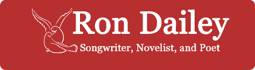 Ron Dailey, Songwriter, Novelist and Poet, Logo
